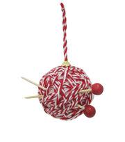 Maker's Holiday Christmas Ball of Yarn Ornament, , hi-res