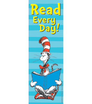 Dr. Seuss™ Cat in the Hat Bookmarks-Read Every Day