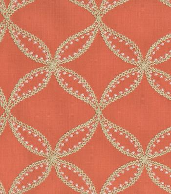 Williamsburg Upholstery Fabric-Tanjib Emb/Turmeric