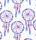 Snuggle Flannel Fabric 42\u0022-Watercolor Dreamcatcher