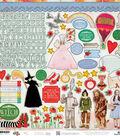 Wizard Of Oz Cardstock Stickers 12\u0022X12\u0022