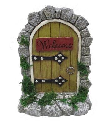 Bloom Room Littles Resin Door with Welcome Sign