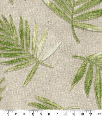 "P/K Lifestyles Outdoor Fabric 54""-Fossil Fronds Leaf"