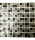 Peel & Impress™ Self Adhesive Square Tiles-Crystal Brown