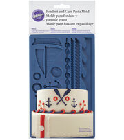 Wilton® Fondant & Gum Paste Silicone Mold-Nautical, , hi-res