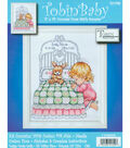 Bedtime Prayer Girl Birth Record Counted Cross Stitch Kit-11\u0022X14\u0022 14 Count