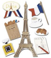 Jolee's Boutique Themed Stickers-Paris, , hi-res