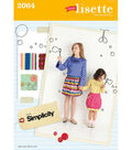 Simplicity Pattern 2064K5 7-8-10-12--Simplicity Childs