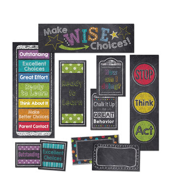 Chalk It Up! Behavior Clip Chart Mini Board Set