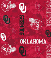 "University of Oklahoma Sooners Fleece Fabric 60""-Digital Camo, , hi-res"