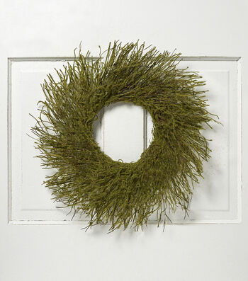 Bloom Room 18'' Wreath Base-Green