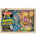 Melissa & Doug Wooden Animal Magnets
