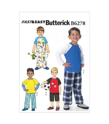 Butterick Child Sleep & Lounge-B6278