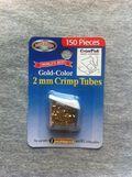 Gold Crimp Tubes