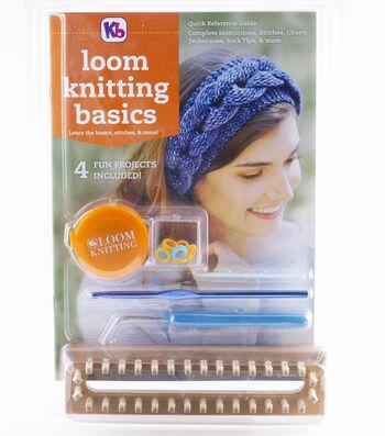 Knitting Board Loom Kniting Basics Kit