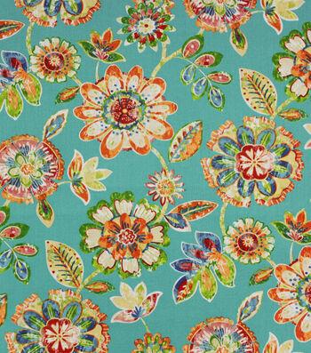 Solarium Outdoor Print Fabric 54''-Blue Jessica