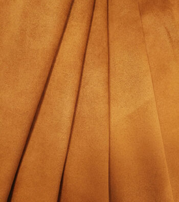 Suede Knit Faux Cloth Fabric 58''-Camel Stretch