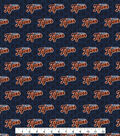 Detroit Tigers Cotton Fabric 58\u0022-Mini Print