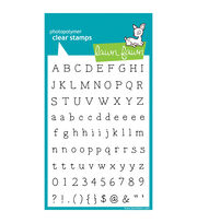 "Lawn Fawn Clear Stamps 4""X6""-Smitty's ABCs, , hi-res"