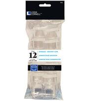 "Loew-Cornell Acrylic Storage Cups 1"" 12/Pk, , hi-res"