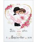 RIOLIS Counted Cross Stitch Kit 7\u0022X9.5\u0022-Wedding Metric