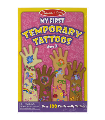 Pink -temporary Tattoos
