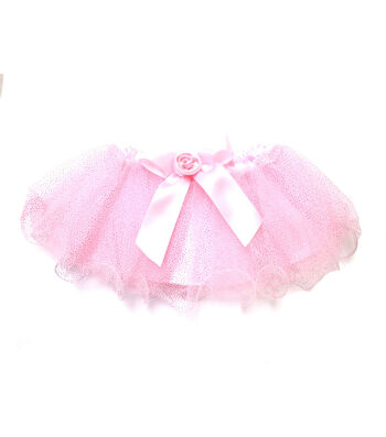 Maker's Halloween Infant Ruffle Edge Tutu-Fuchsia Pink