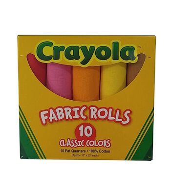 Crayola® Box of 10 Fat Eighths-Original Colors