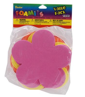 Darice Foamies Value Packs-12PK/Flower