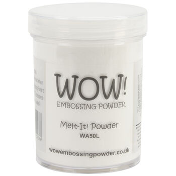 Wow! Embossing Powder Melt-It! Powder Large Jar