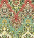 Waverly Lightweight Decor Fabric 54\u0022-Palace Sari/Jewel
