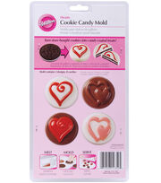 Wilton® Cookie & Candy Mold-Hearts, , hi-res