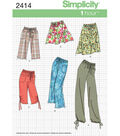Simplicity Pattern 2414K5 8-10-12-14-Simplicity Misses