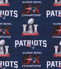 New England Patriots Cotton Fabric 44\u0022-Superbowl