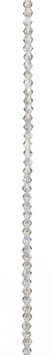 """7"""" Bead Strands - Clear Crystal AB Bicones, 4mm, , hi-res"""