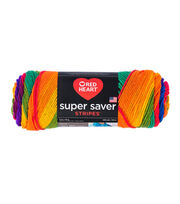 Red Heart Super Saver Stripes Yarn, , hi-res