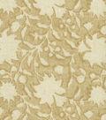 Ellen DeGeneres Upholstery Fabric 54\u0027\u0027-Parchment Floral Silhouette