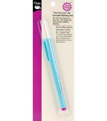 Dritz Fine Line Air Erasable Marking Pen Purple