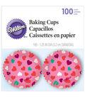 Mini Baking Cups-Valentine-100/Pkg