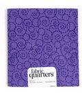 Fabric Quarters Cotton Fabric 18\u0022-Assorted Purple