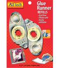 Permanent Glue Tape Runner Refill 2/Pkg-.31\u0022X8.75yd