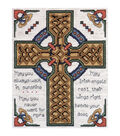 Tobin-Celtic Cross Counted Cross Stitch Kit-8 X10  14 Count