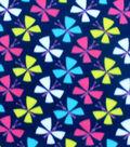 Blizzard Fleece Fabric-Paper Butterflies