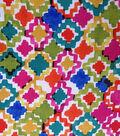 Southwest Zigzag Diamons Polyester Fabric