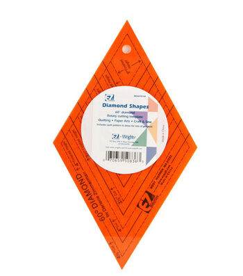 Wrights® Colored Template Shapes-Diamond
