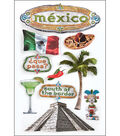 Paper House 3D Stickers-Mexico