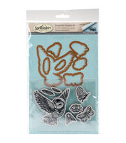 Spellbinders® Earth Air Water Stamp & Die Set-Owl, , hi-res
