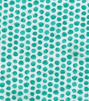 """Keepsake Calico™ Cotton Fabric 43""""-Turquoise Shaded Dot, , hi-res"""