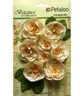 Botanica Ranunculus Flowers 1\u0022 To 1.7\u0022-Ivory