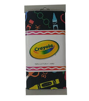 Riley Blake© Crayola® Fabric 1yd Cut-School Coloring Black, , hi-res